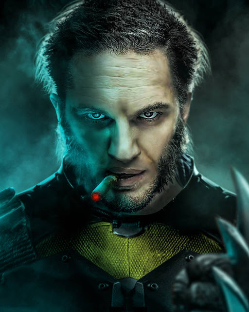 Tom Hardy as Wolverine