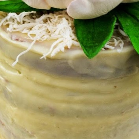 """Irish Cream Birthday Cake"""