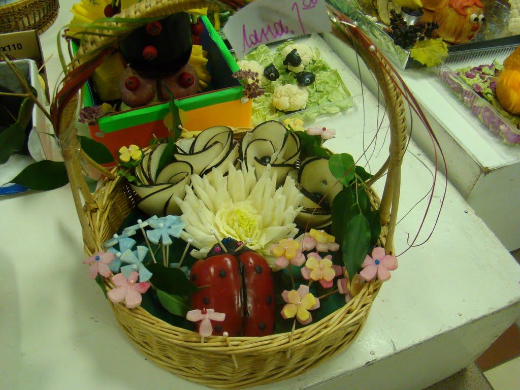 Выставка поделки из овощей и фруктов 42
