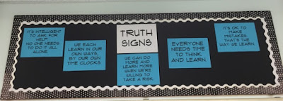 middle school bulletin board