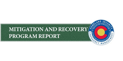 graphic stating Mitigation and Recovery Program Report