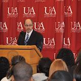 U of A System President Dr. Donald Bobbitt Visit