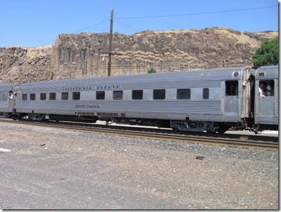 IMG_7764 Pennsylvania Railroad 'California Zephyr' Sleeper 'Silver Rapids' in Wishram, Washington on July 3, 2009