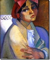 Andre-Lhote-Woman-in-a-Bonnet-Sulking