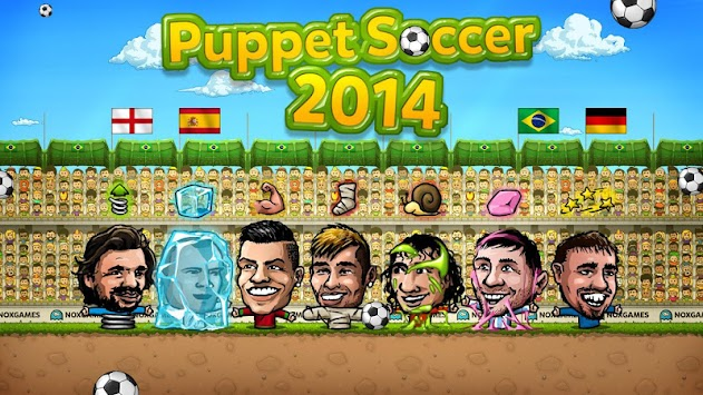 Puppet Soccer 2014 - Football APK screenshot thumbnail 4
