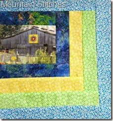 Mountain Stitches Barn Block