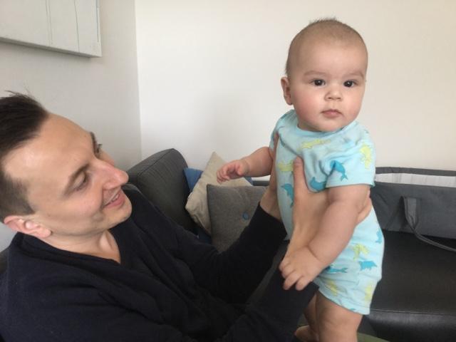 Noah 5months vaccination