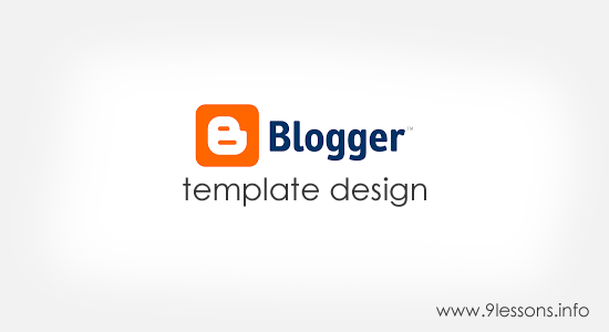 Blogger Template Design.