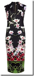 Ted Baker mirrored tropics midi dress