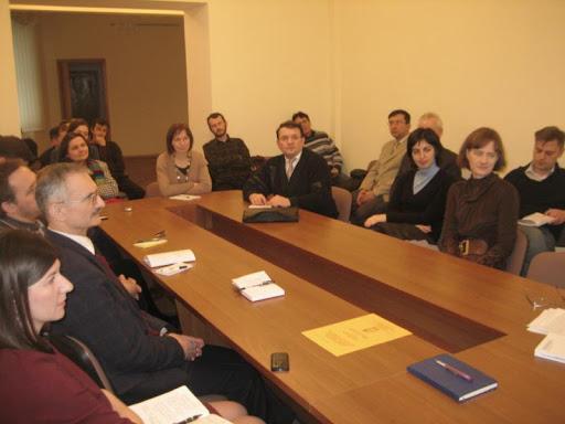 28 січня відбулося щомісячне засідання наукового семінару «Перехресні стежки»