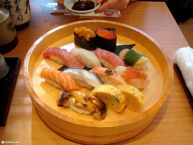 superb sushi grade fish at Takashimaya in Shinjuku, Tokyo, Japan