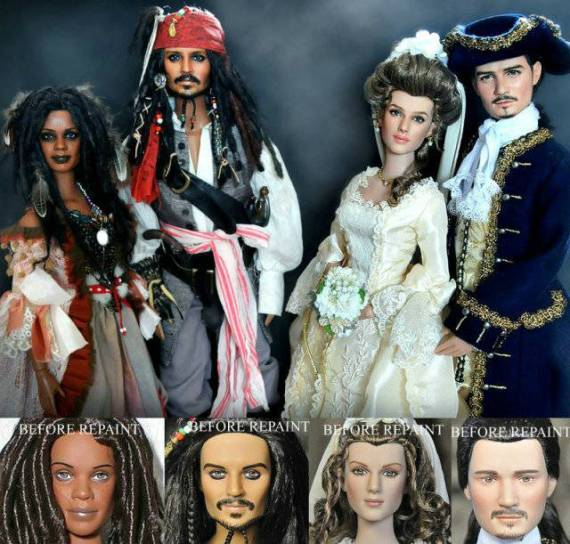 пираты карибского моря – куклы – ноэль круз