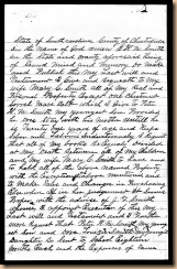 WILL of Hugh M. Smith, pg 1