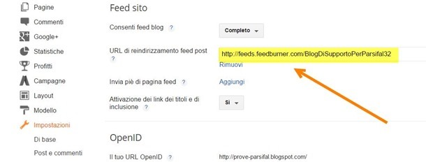 feedburner-blogger-reindirizzamento-feed
