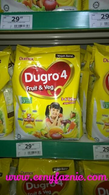 dumex dugro4 fruit & veg