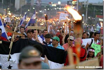 Marcha Honduras 2015