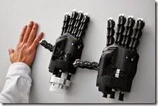 La mano artificiale stampata in 3D