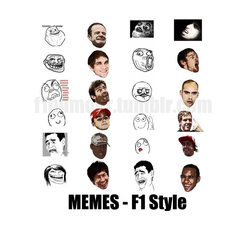 Memes - F1 Style - интернет-мемы в стиле Формулы-1 by F1Humour