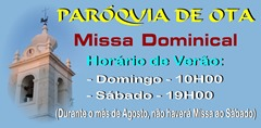 Paroquia Ota - Missa Dominical