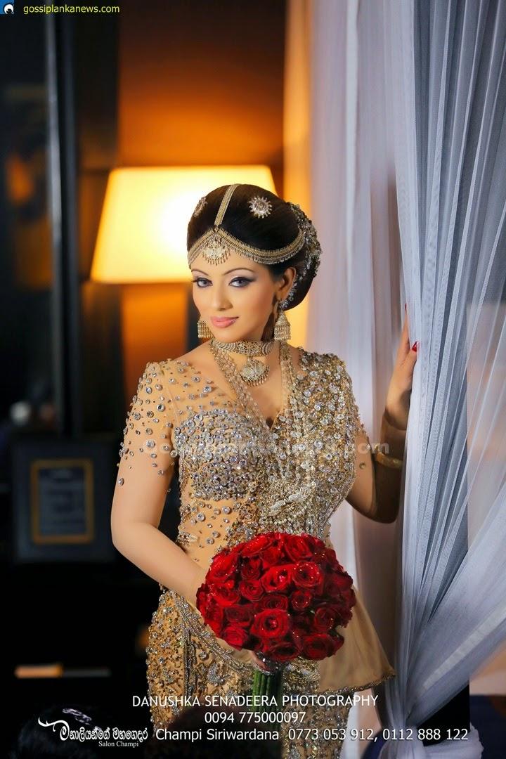 Gossip Photo Gallery Nathasha Perera S Wedding Dress In