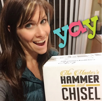 The Master's Hammer and Chisel, Support and accountability group, Get Lean, Lose weight, www.HealthyFitFocused.com, Julie Little Fitness