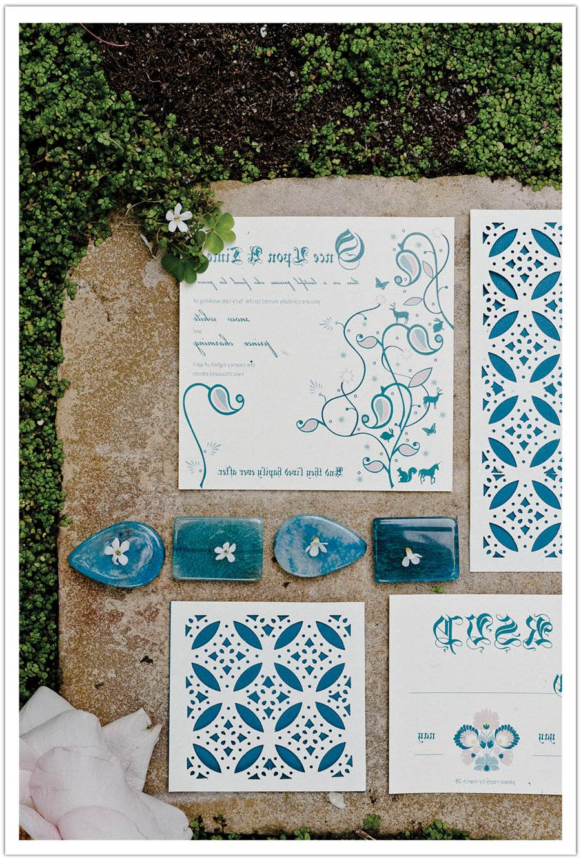 Folk Art Fairy Tale Wedding