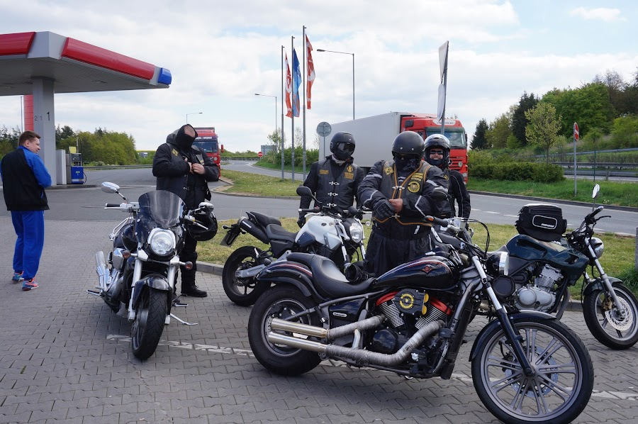 Чешские байкеры