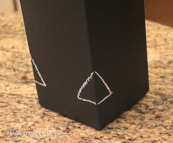 Turning milk carton into bird feeder