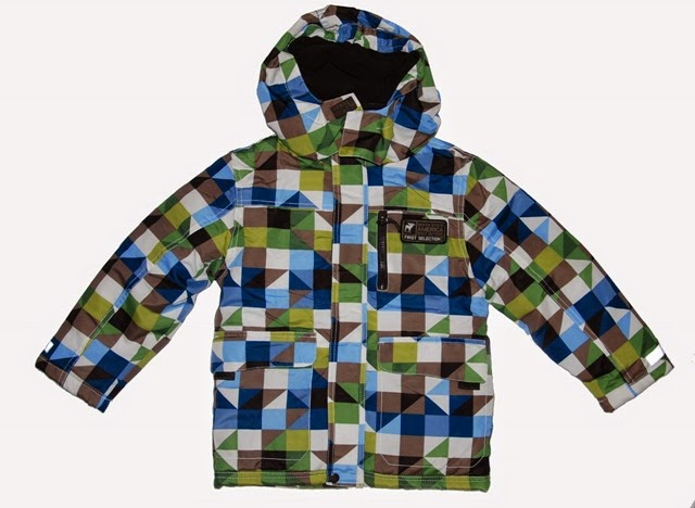Patchwork Winterjacke 2