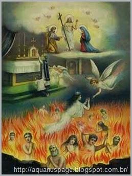 crenças católicas purgatório
