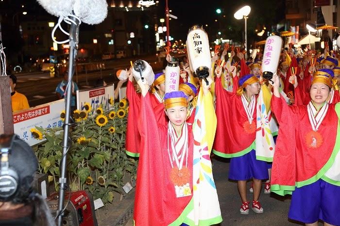 第60回よさこい祭り☆本祭2日目・上町競演場10☆上2目2678