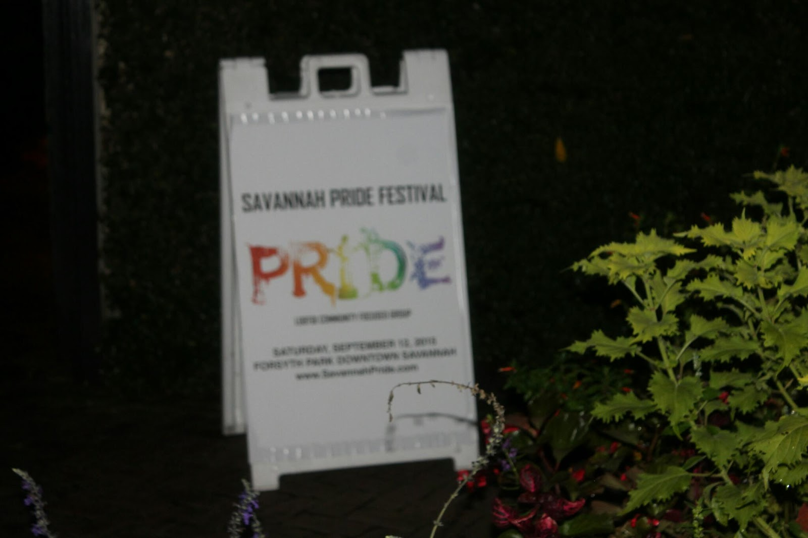 All White Savannah Pride Kickoff Garden Party Photos Savannah Georgia 2015
