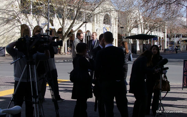 simon corbell and media pack