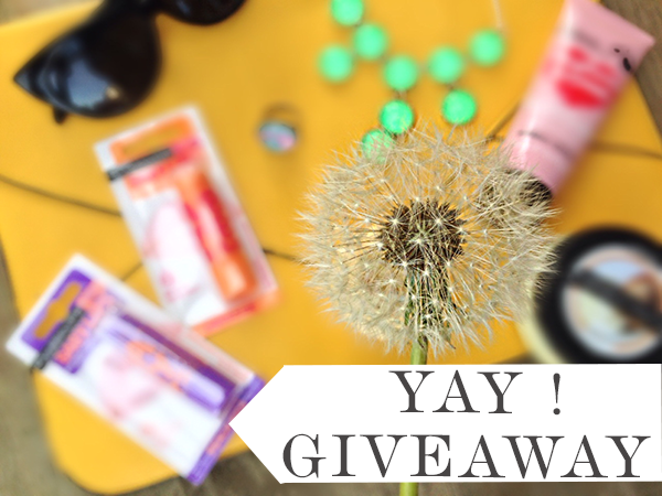 giveaway spring dainte