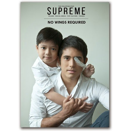 Marco Masa and Gerald Anderson for PhilStar Supreme