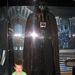 Bryan with Darth Vader in the Studio Backlot Tour in Hollywood Studios in Disney 06062011b