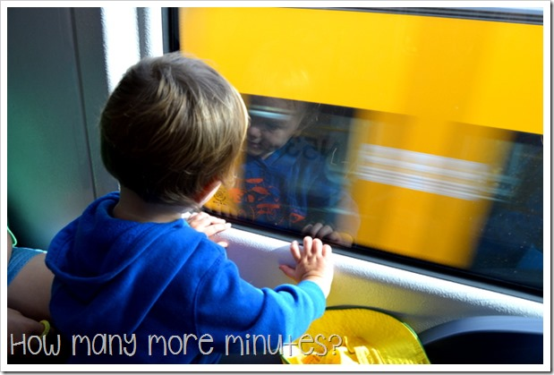 Surviving public transportation in Sydney! ~ How Many More Minutes?