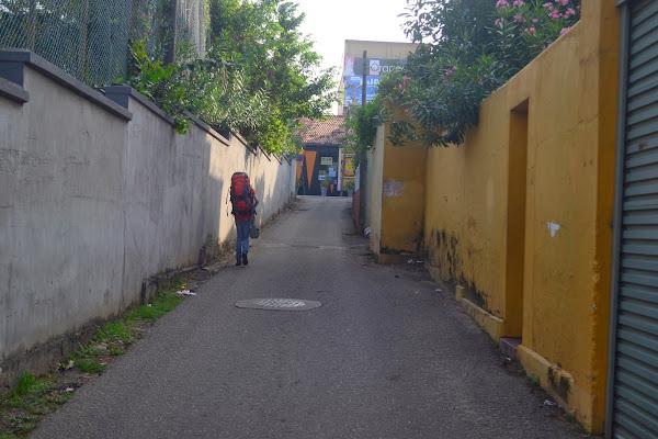 Улицы Коломбо, Маунт Лавиния, Шри Ланка