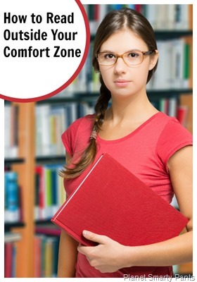 Encouraging kids to read outside their favorite genre and their reading comfort zone