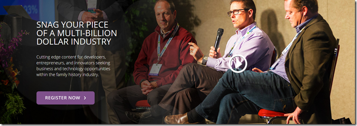 RootsTech's Innovator Summit is for software engineers, entrepreneurs, and innovators.