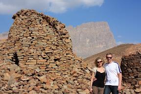 Skye & Simon at the Beehive tombs