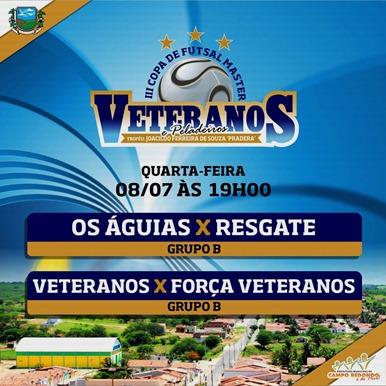 III COPA DE PELADEIROS  - TABELA - 08.07 - CAMPO REDONDO