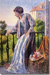 Madame_Luce_on_the_Balcony,_Maximilien_Luce