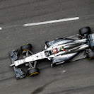 Kevin Magnussen on the Monaco circuit