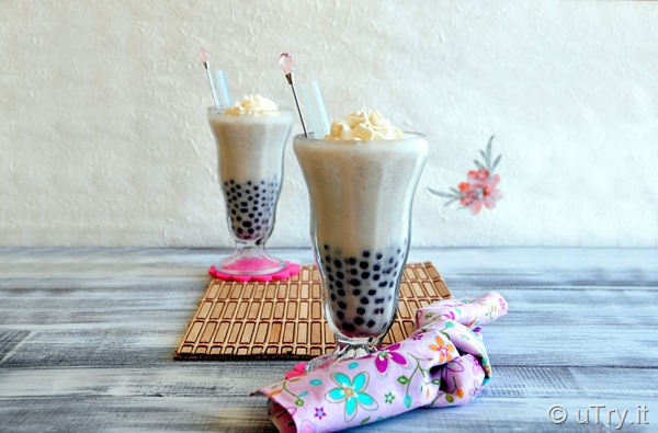 Check out how to make this Taro Coconut Smoothie with Taro Boba (新鮮芋頭椰汁波霸冰沙) with step by step video tutorial!   http://uTry.it