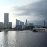 breathtaking view of yokohama bay in Yokohama, Tokyo, Japan