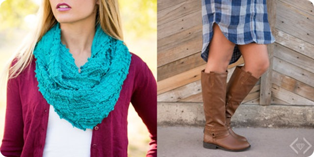 boot scarf