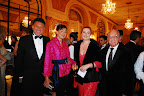 Carlos Manzi y su mujer Katerina,  Rosana y Horacio Rozenblum
