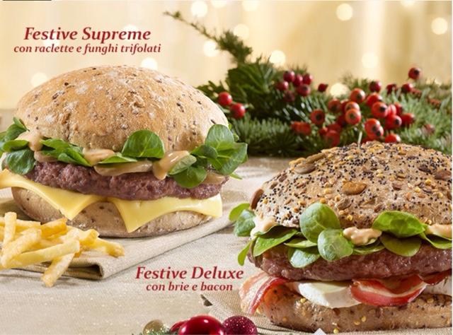 McDonald's Italy Il Menu Delle Feste