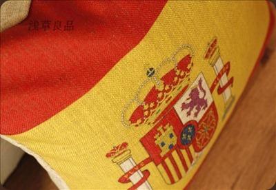 Cojines-bandera-española-almohada-cubiertas-del-amortiguador-del-sofá-Cojines-para-sillas-shabby-chic-decoración